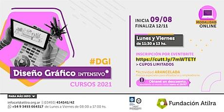 Curso Diseño Gráfico Intensivo | Fundación Atilra boletos
