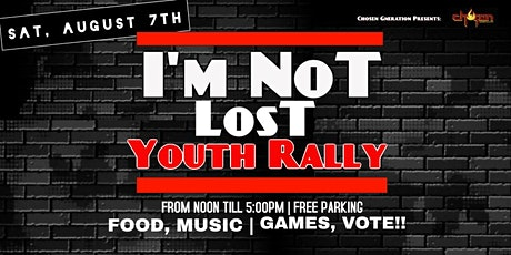 I'm Not LosT TOUR in Partnership with The Just 1 Campaign tickets