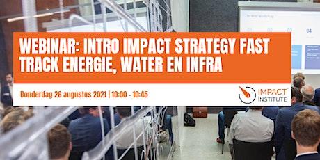 Impact training – editie voor energie, water en infrabedrijven tickets