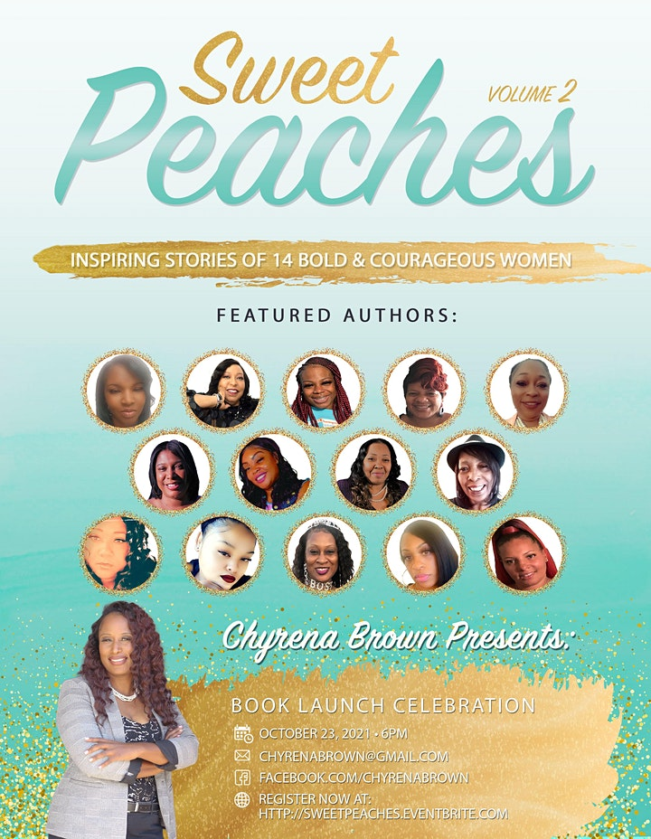 Sweet Peaches Vo. II Book Launch image