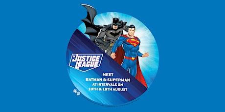 Meet Justice League tickets