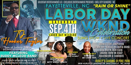 Fayetteville, NC Labor Day Wknd  Sling Show + Southern Soul Concert tickets