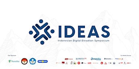 #IDEAS Indonesian Digital Elevation Symposium tickets