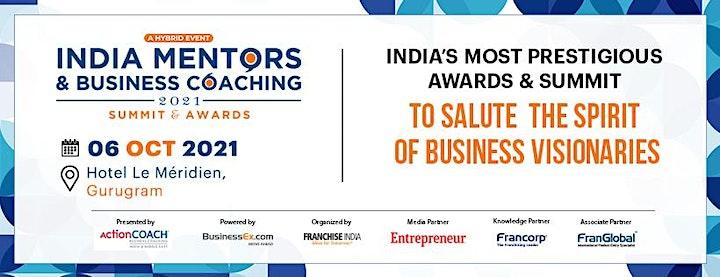 India Mentors & Business Coaching - Summit & Awards 2021 image