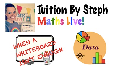 Maths Live! Summer Sessions - Data Lesson 2 (Pie Charts & Line Graphs) tickets