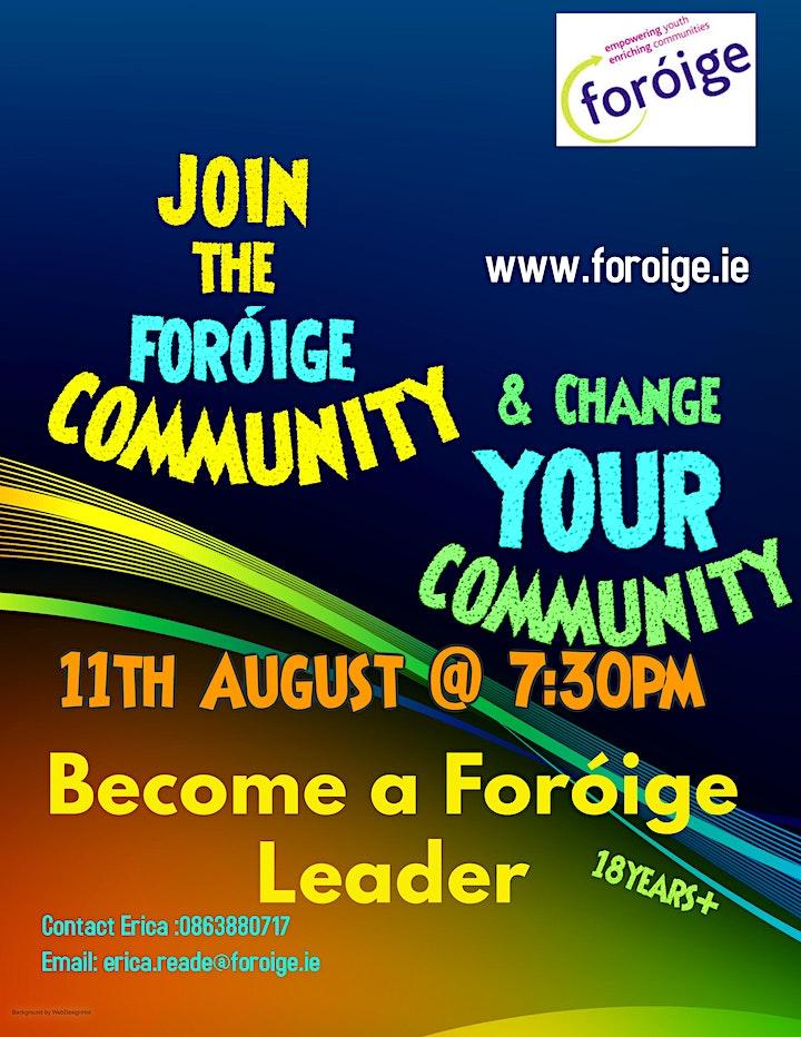 Foróige Information Night image