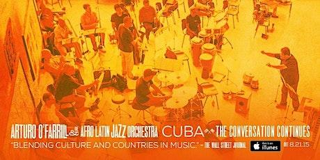Arturo O'Farrill and The Afro Latin Jazz Ensemble Record Release tickets