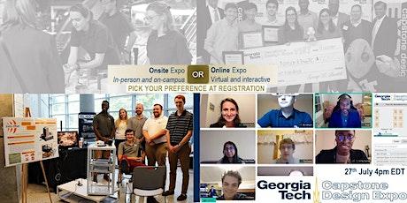 Summer 2021 Georgia Tech Capstone Design Hybrid Expo tickets