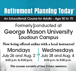 Retirement Planning Today: Online Educational Course for Adults Ages 50-70 tickets