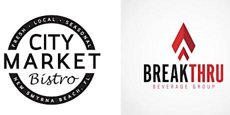 """""""Wine Nights"""" Presented by City Market Bistro & Breakthru Beverage Group tickets"""