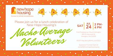 Volunteer Appreciation Lunch tickets
