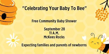 Free Community Baby Shower -- McKees Rocks tickets