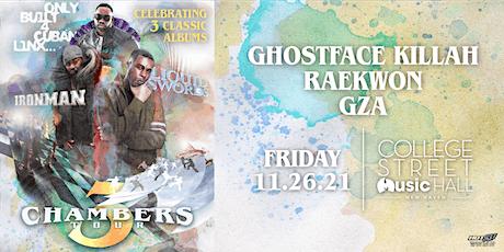 3 Chambers Tour: Raekwon x Ghostface Killah x GZA tickets