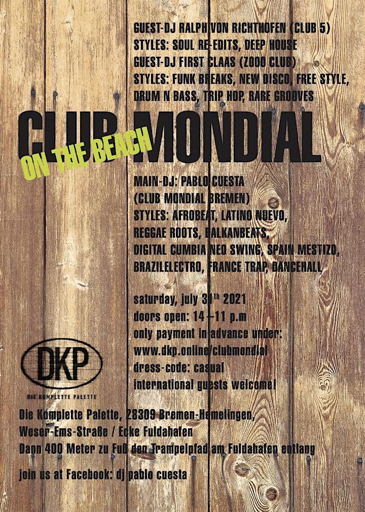 Club Mondial - On the Beach: Bild