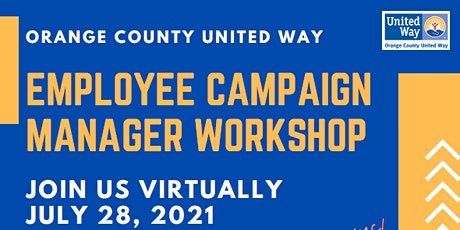Orange County United Way - Employee Campaign Manager Workshop tickets
