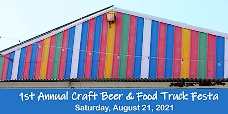 1st Annual Craft Beer and Food Truck Festa tickets