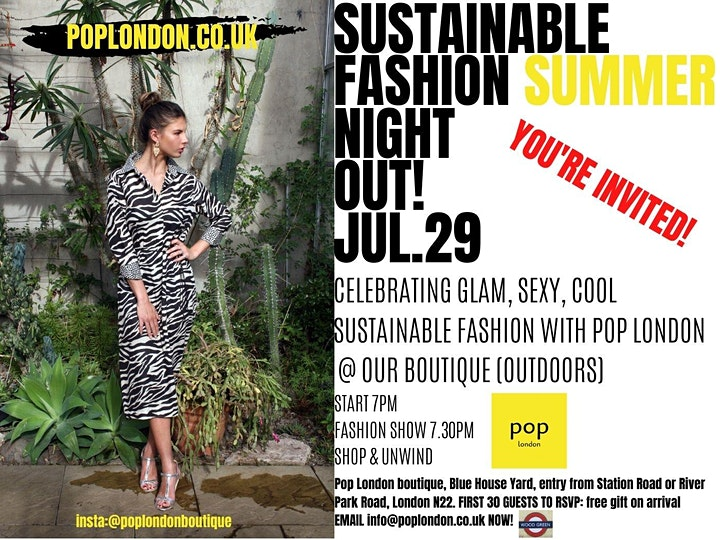 Sustainable Fashion Summer Night Out image