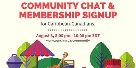 Community Chat & Membership Signup tickets