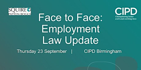 Face to Face: Employment Law Update tickets