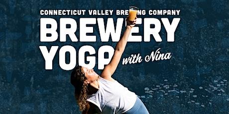 Brewery Yoga with Nina (8/15) tickets