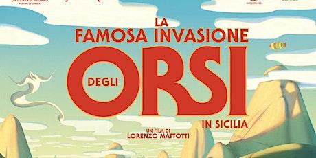 Cinema al parco: La famosa invasione degli orsi in Sicilia biglietti