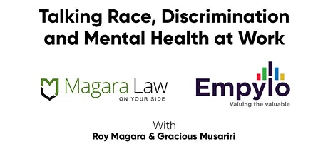 Talking race, discrimination and mental health at work tickets