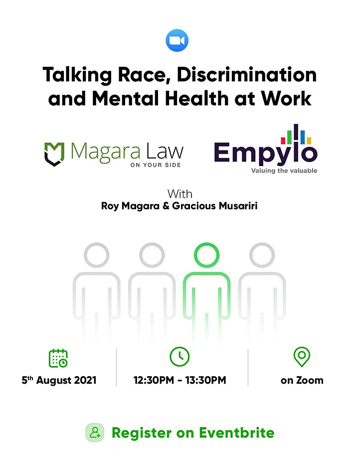 Talking race, discrimination and mental health at work image