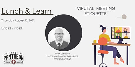 Lunch & Learn (Virtual Meeting Etiquette) + Free Co-Working Day tickets