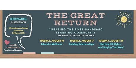 The Great Return: Creating The Post-Pandemic Learning Community tickets