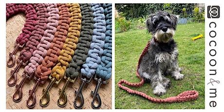 Chunky Macramé Dog Lead Workshop - London tickets