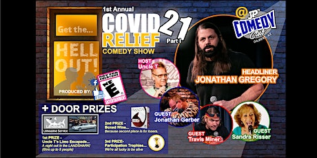 """1st Annual COVID Relief Comedy Show """"21"""" part 1 tickets"""