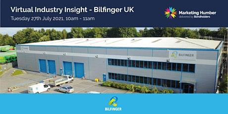 Virtual Industry Insight - Bilfinger UK tickets
