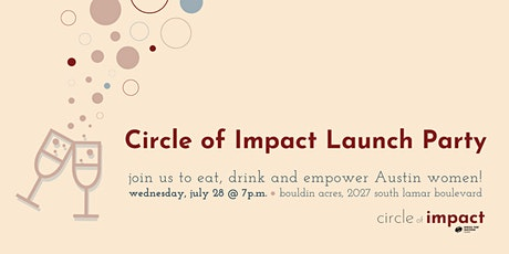 Circle of Impact Launch Party tickets