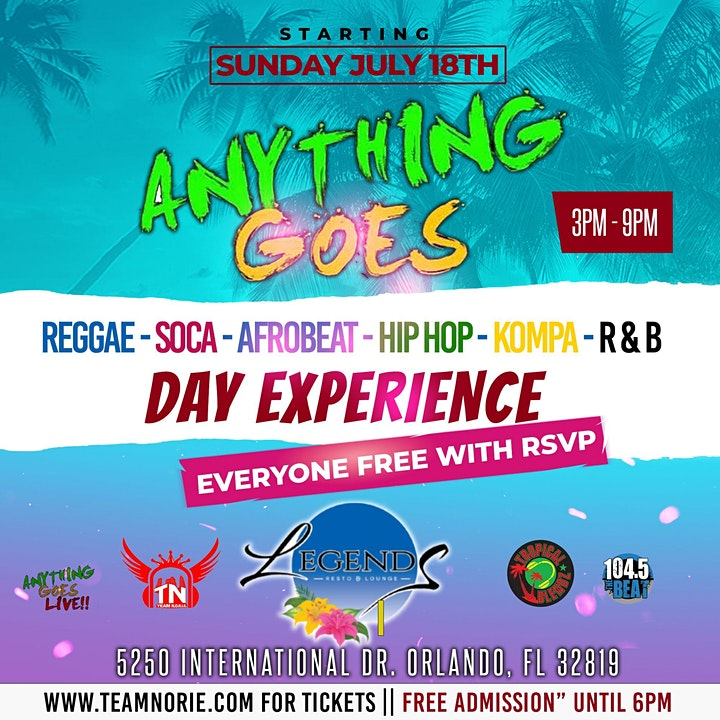 Anything Goes Day Party in Orlando