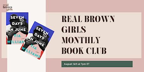Online Event: August Book Club: Seven Days In June tickets