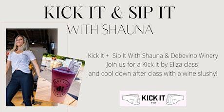Kick It & Sip It With Shauna at Debevino Winery tickets