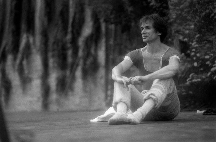 Immagine 20 anni con Rudolf Nureyev