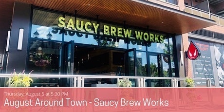 Young Professionals Networking at Saucy Brew Works Vibe Garden tickets