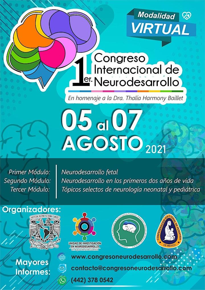Imagen de 1er Congreso Internacional de  Neurodesarrollo