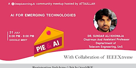 Pie & AI: Hyderabad - AI for Emerging technologies tickets