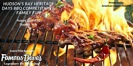 Hudson's Bay Heritage Days BBQ Competition & Family Fun tickets