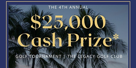 4th Annual Golf Tournament tickets