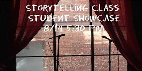 Storytelling Student Showcase tickets