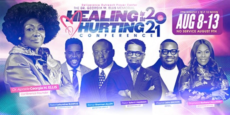 Healing For The Hurting Conference 2021 tickets