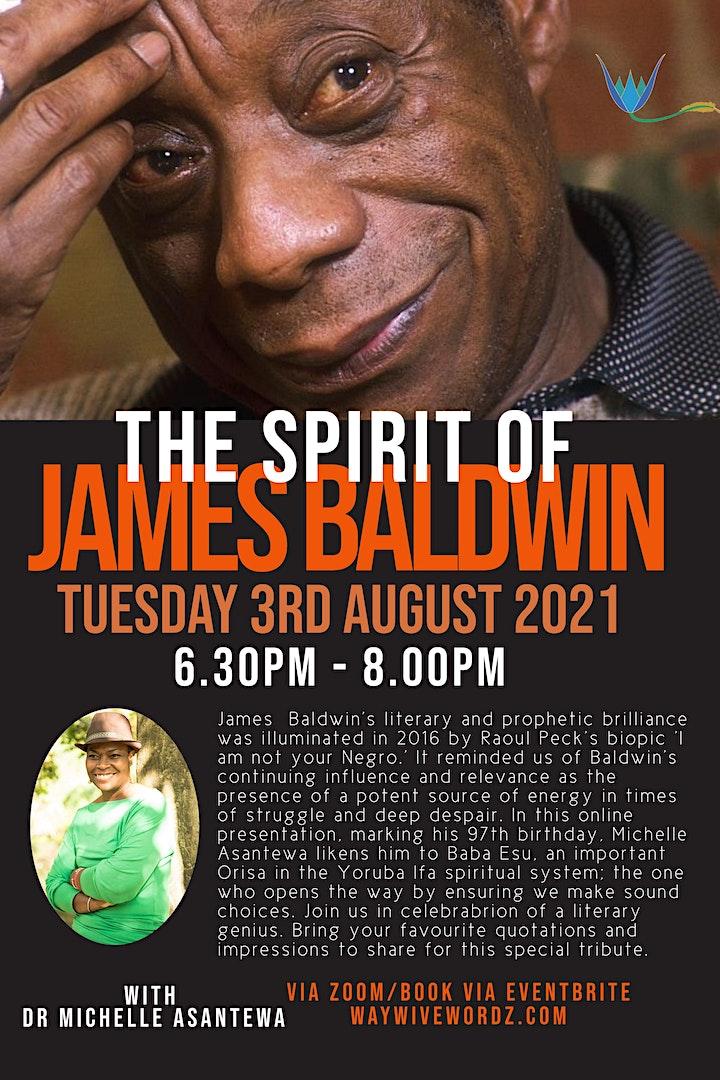The Spirit of James Baldwin image