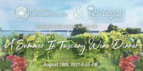 A Summer in Tuscany Wine Dinner tickets