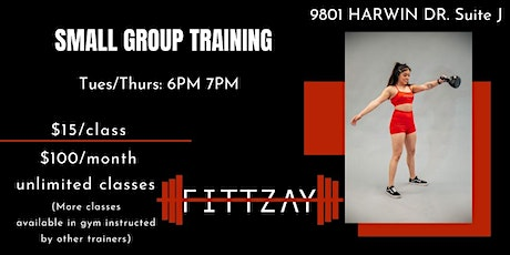 Small Group Fitness Class tickets