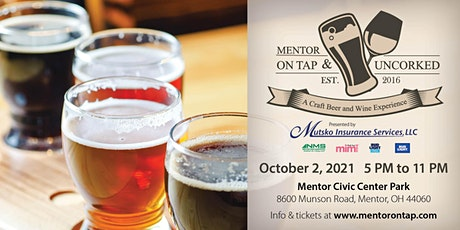 OnTap and Uncorked tickets