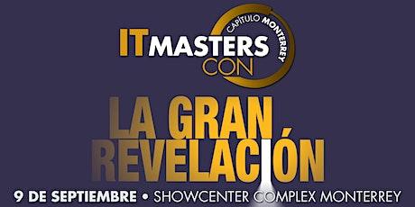 IT Masters CON Monterrey entradas