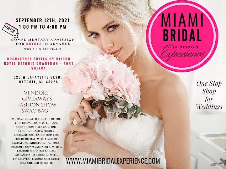 The Ultimate Miami Bridal Experience in Detroit  2021 image